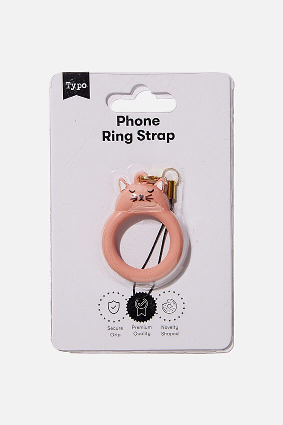 Phone Ring Strap, CAT