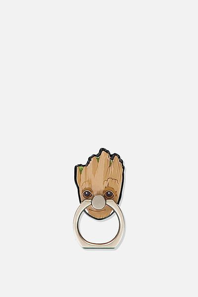 Licenced Metal Phone Ring, LCN MARVEL GG GROOT