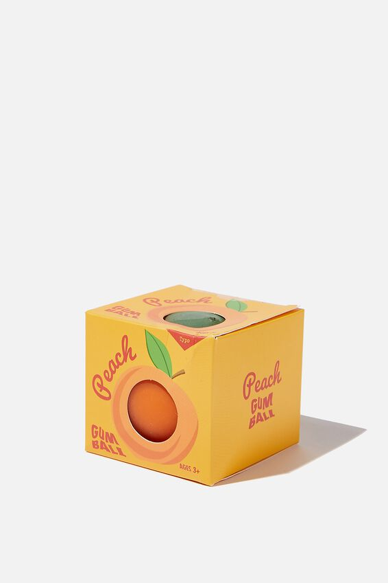 Gum Ball Squishy, PEACH