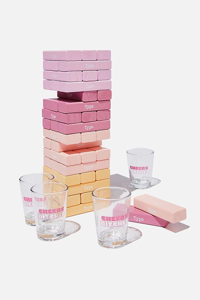 Drinking Tower Game, PINK!