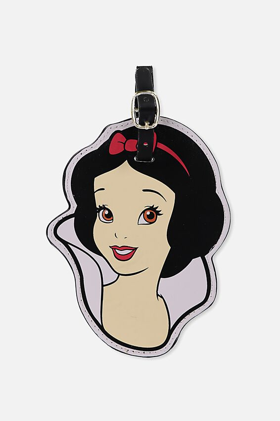 Shape Shifter Luggage Tag, LCN SNOW WHITE