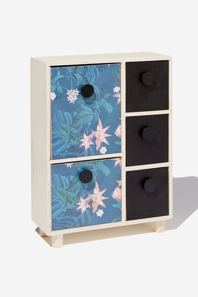 5 Drawer & Store, JUNGLE FLORAL