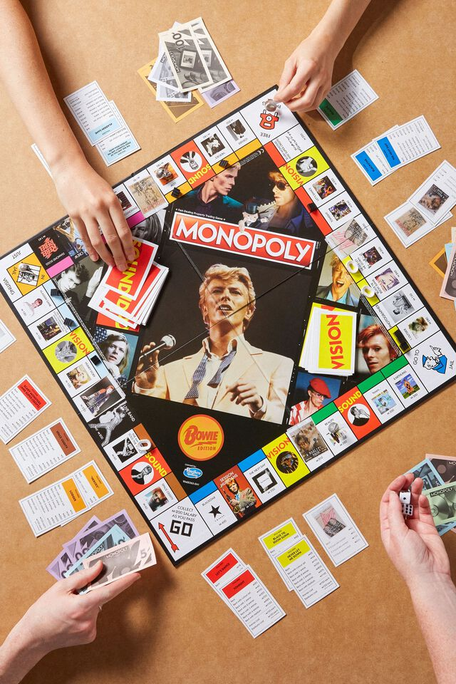 Bowie Monopoly Board Game, LCN BOWIE