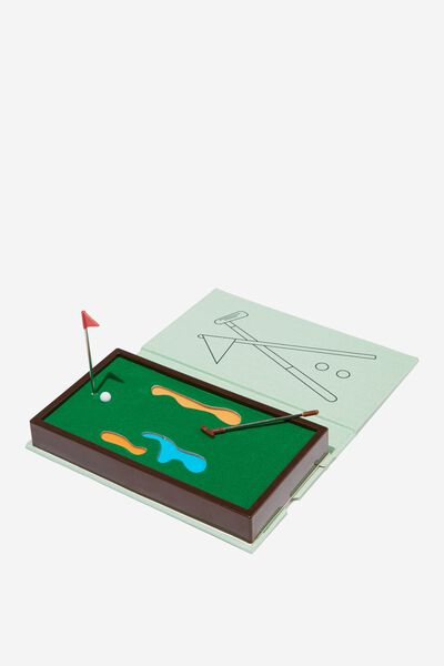Mini Book Games, GOLF