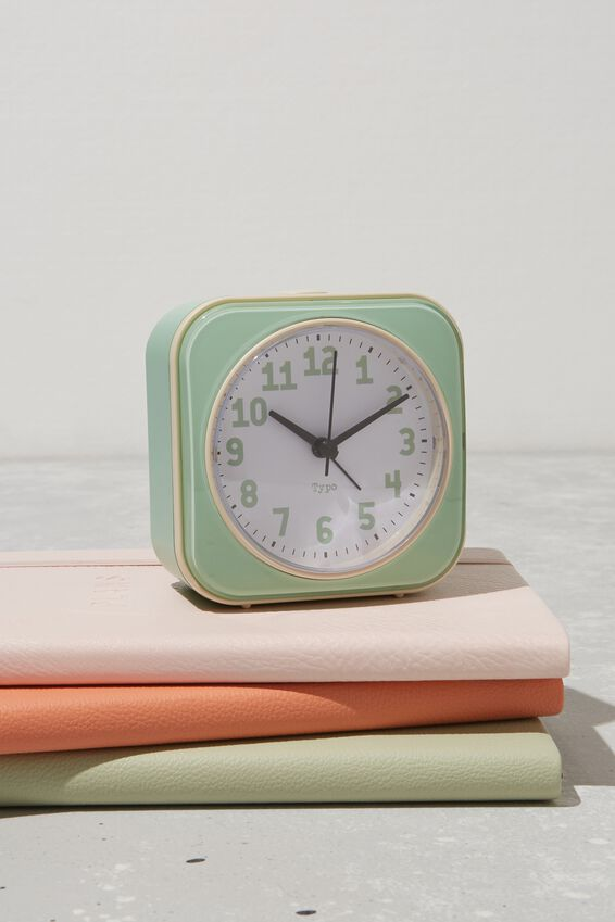Desk Clock, BLUE