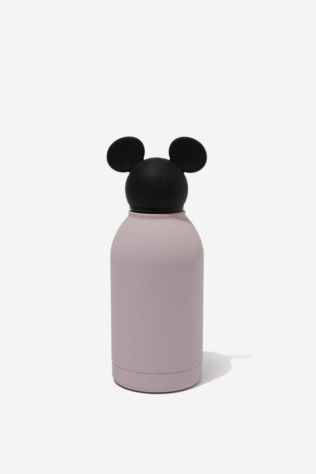Premium Metal Drink Bottle 350Ml, LCN DIS MICKEY DUSTY LILAC
