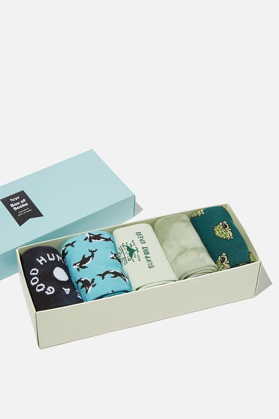 Box Of Socks, EARTH CREW