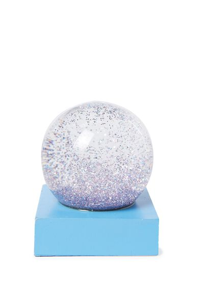 Glitter Globe, BLUE