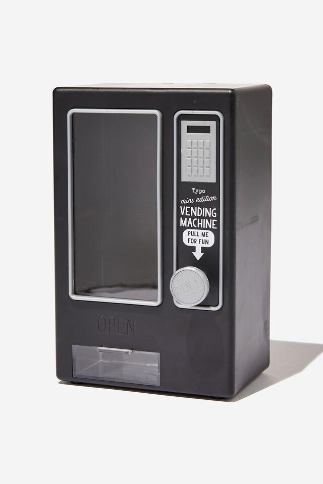 Mini Vending Machine, BLACK MATTE
