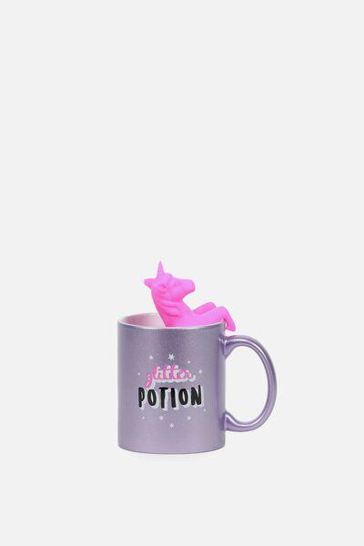 Mug & Tea Infuser Set, UNICORN