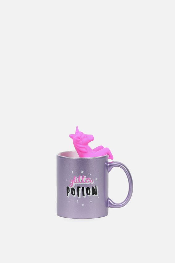 Mug & Tea Infuser Set, UNICORN
