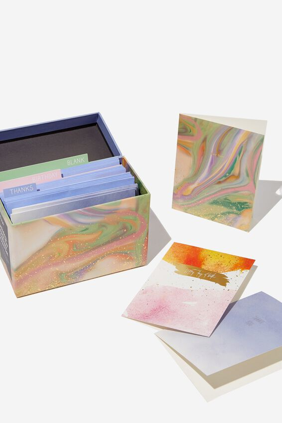 Mixed Card Set, MARBLE
