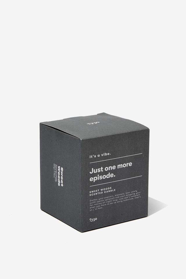 Its A Vibe Candle, COOL GREY ONE MORE EPISODE