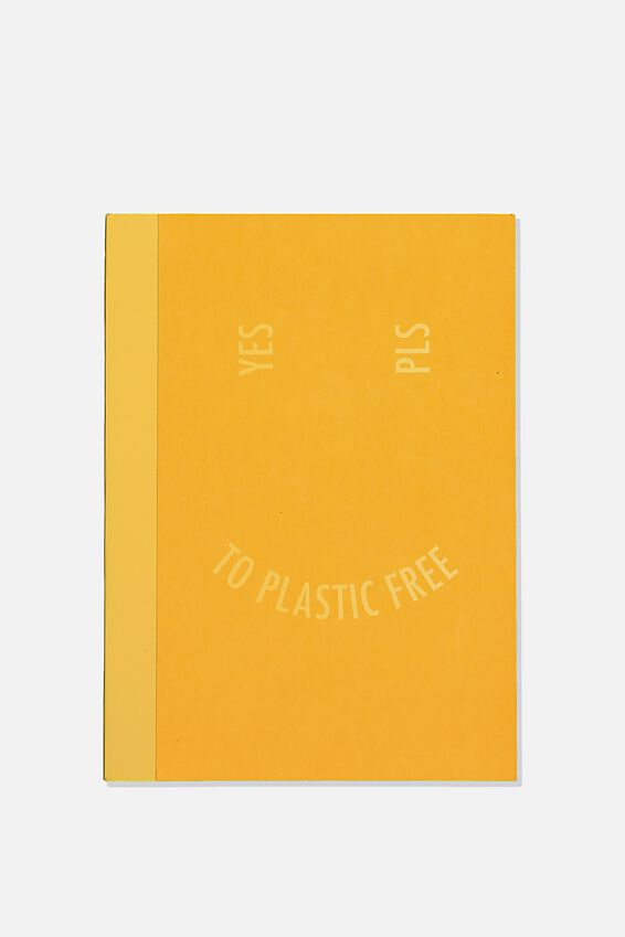 A5 Academy Notebook, PLASTIC FREE