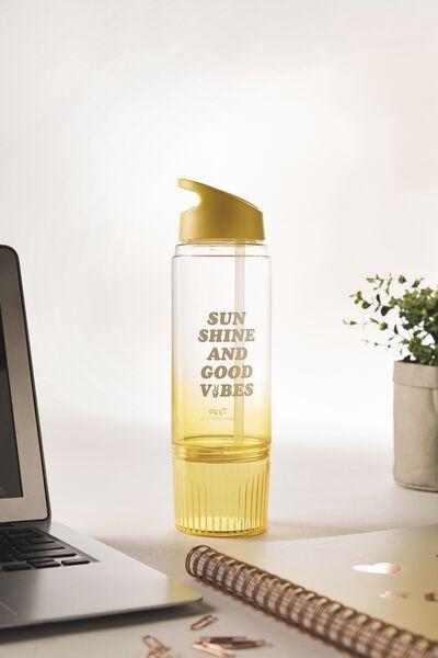 Stash Drink Bottle, GOOD VIBES