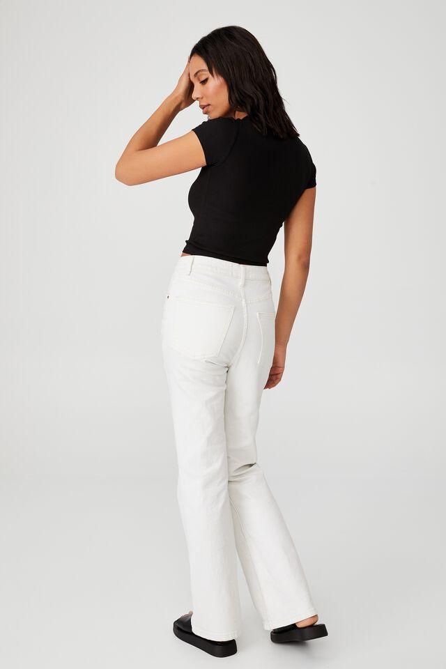 Camilla Cut Out Short Sleeve Top, BLACK
