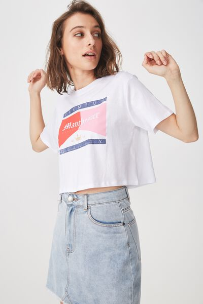 Tbar Arizona Graphic Chop Tee, MANCHESTER/WHITE