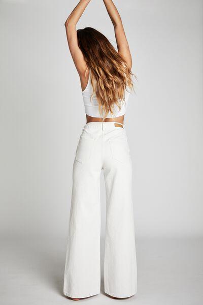 Long Wide Leg Jean, WHITEHAVEN