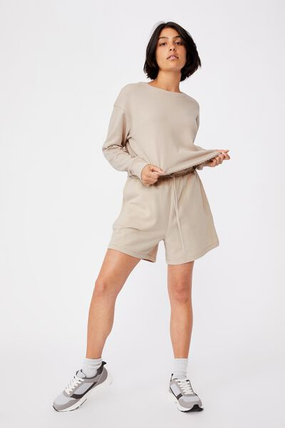 Clubhouse Fleece, TAUPE