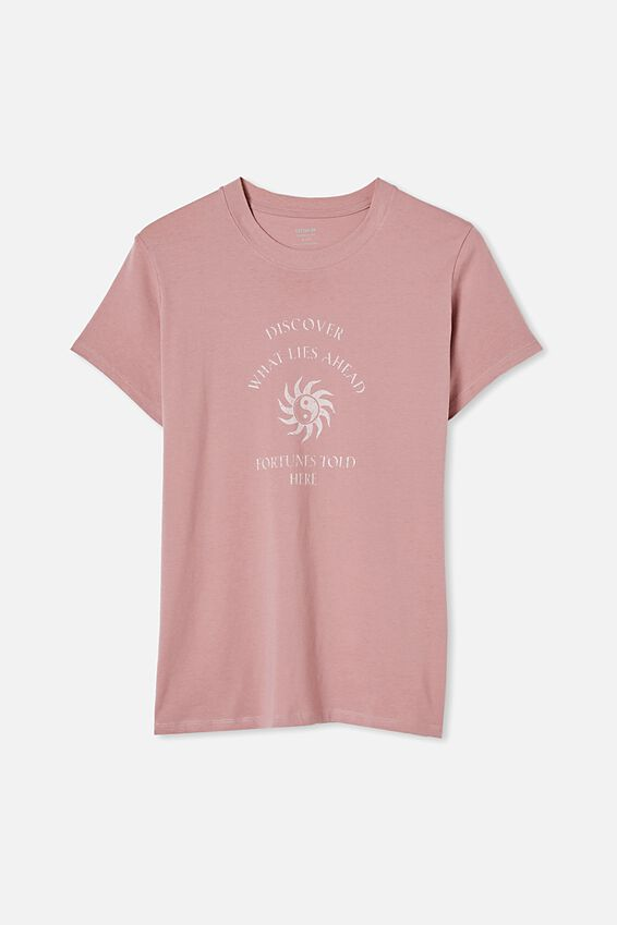 Classic Arts T Shirt, FORTUNES TOLD HERE/BLUSH