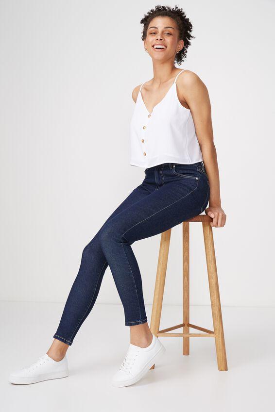 Mid Skinny Jean, EVERYDAY DARK BLUE