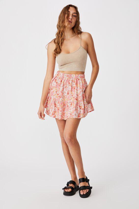 Spin Me Around Circle Skirt, NIKITA FLORAL SUGAR PINK