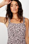Woven Melanie Midi Slip Dress, BLAIR FLORAL PAISLEY KEEPSAKE LILAC
