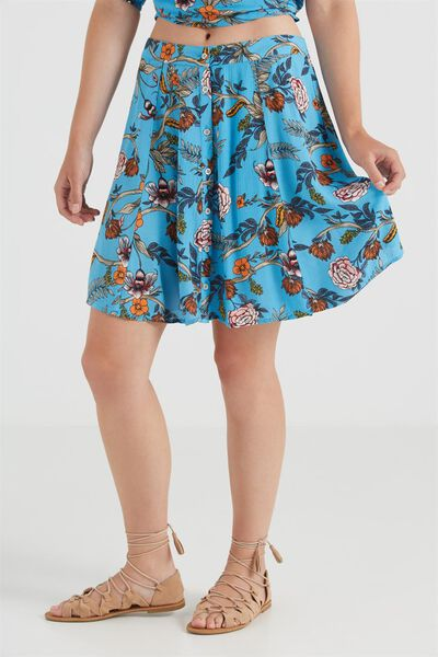 Wv Sally Flippy Skirt, MIMI INTENSE BLUE