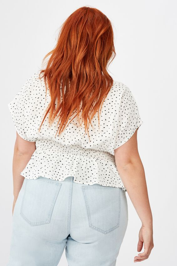 Curve The Ultimate Tea Blouse, NADIA SPOT CANNOLI