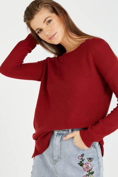 Archy 3 Pullover, ROSEWOOD