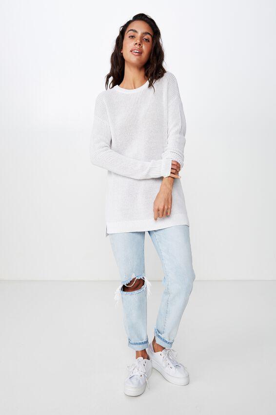 Archy 6 Pullover, WINDSTREAM WHITE TWIST