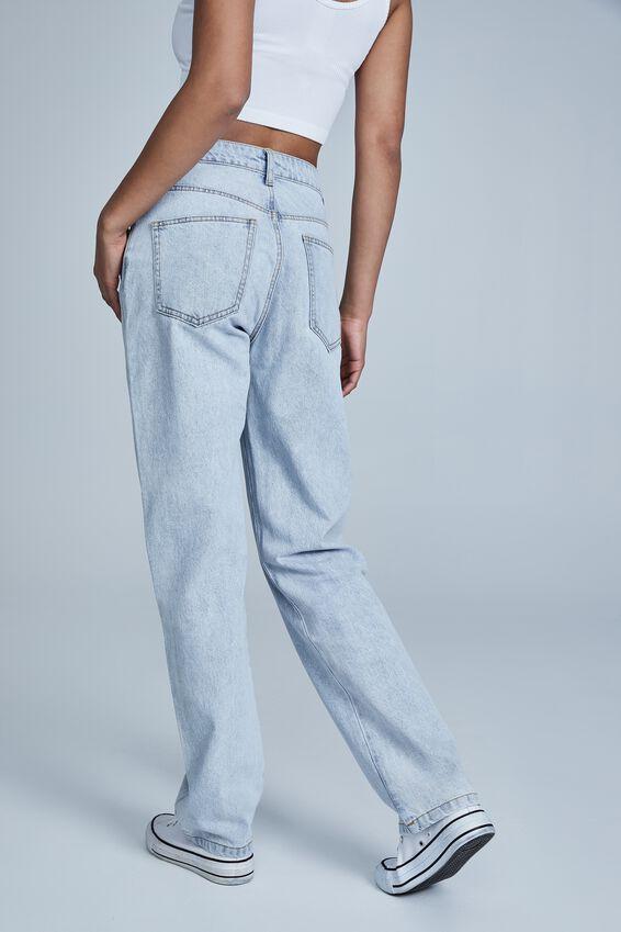Long Straight Jean, HENLEY BLUE