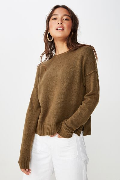 Rae Luxe Pullover, BEECH
