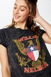 Classic Band T Shirt, LCN BR WILLIE NELSON EAGLE/BLACK