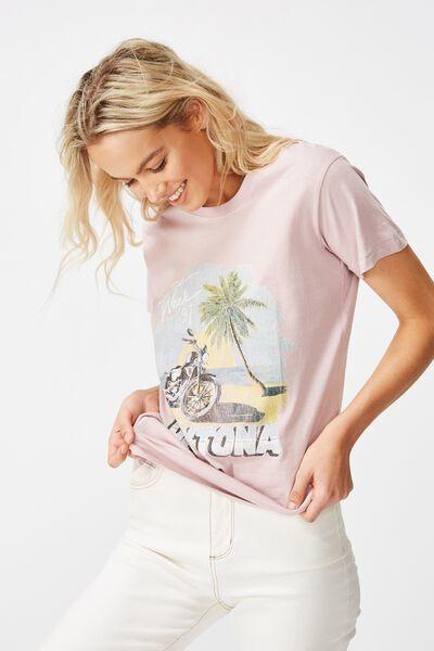 Classic Vintage T Shirt, DAYTONA BIKE WEEK/KEEPSAKE LILAC