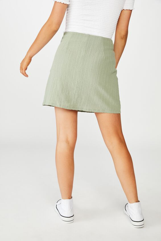 Wren Mini Skirt, JADE