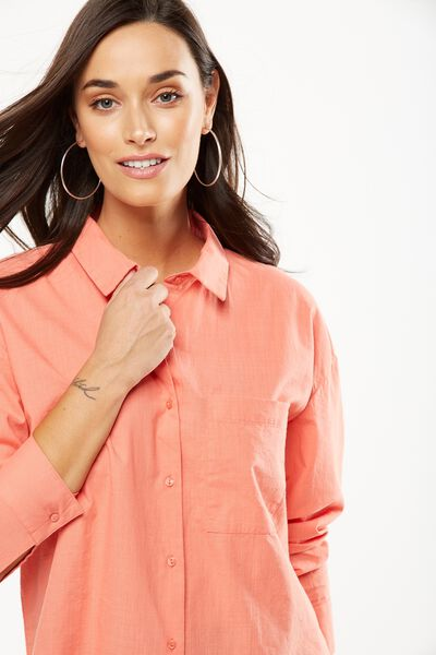 Millie Shirt, EMBERGLOW