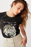 Essential Art T Shirt, EL JAGUAR/BLACK