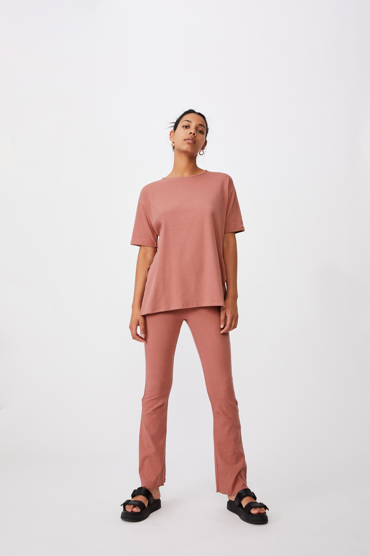 Bella Drop Shoulder Short Sleeve Top | Cotton On