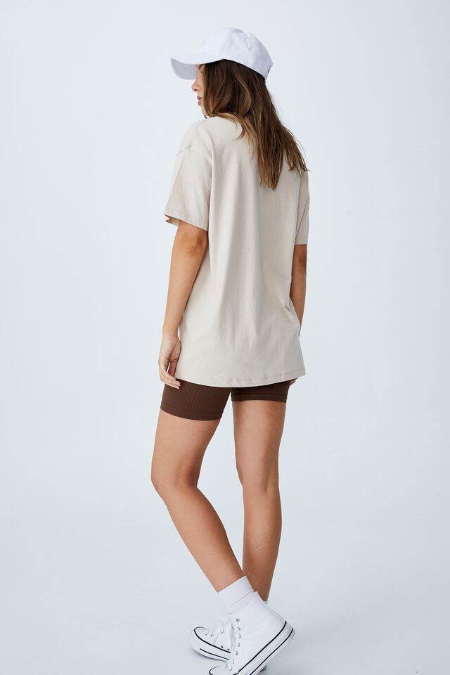 The Relaxed Boyfriend Graphic Tee, RECKLESS ROMANCE/STONE