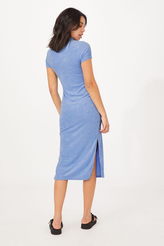 Tori Polo Midi Dress, POOLSIDE BLUE