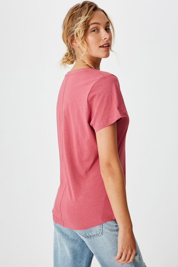 The One Fitted V Tee, MALAGA