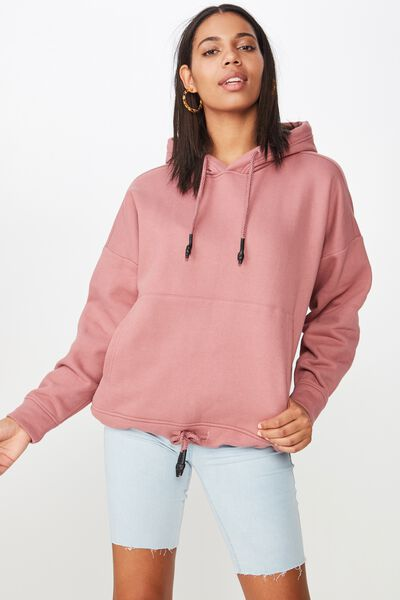 Maxie Oversized Hoodie, CLOUDY GRAPE