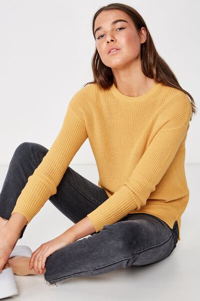 Archy 6 Pullover, BRIGHT GOLD