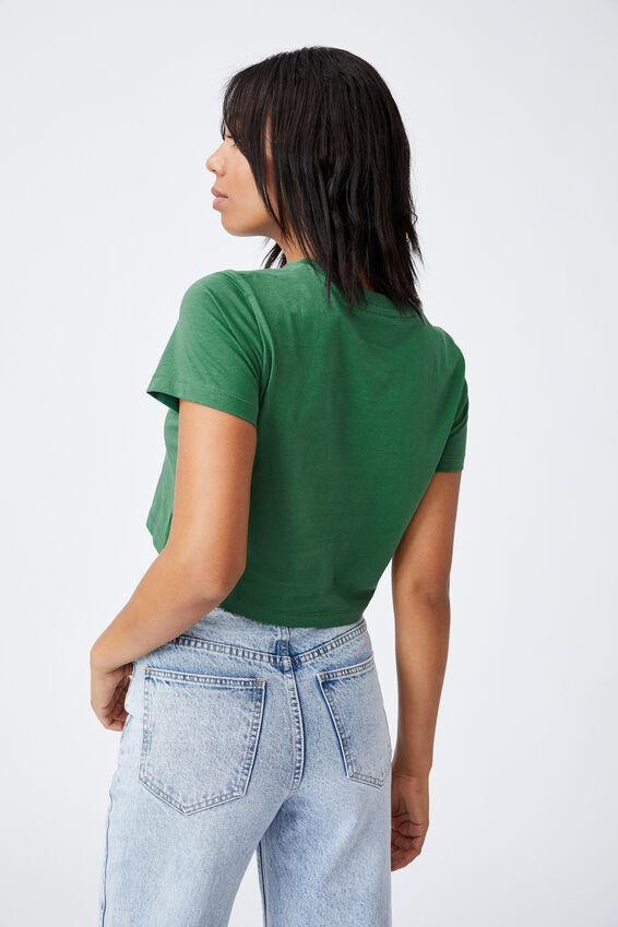 The Baby Tee, HERITAGE GREEN