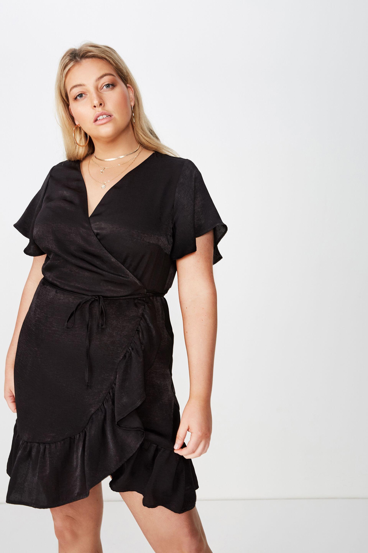 Wrap Dress | Plus Size | Curve by Cotton On