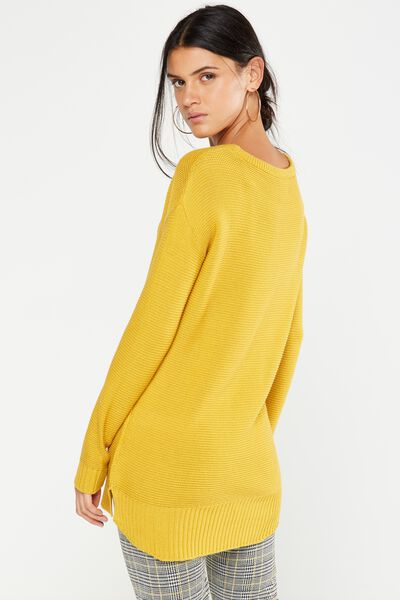 Archy 4 Pullover, HONEY MUSTARD