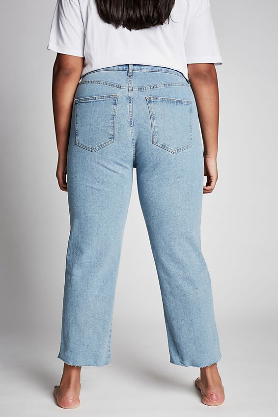 Curve Millie Straight Leg Jean, BOSTON BLUE