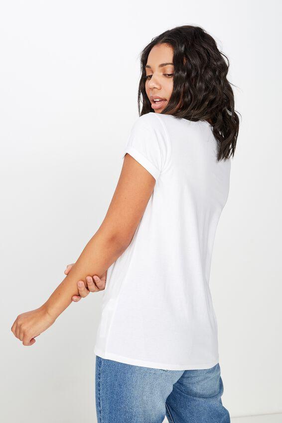 Classic Slogan T Shirt, PROUD/WHITE