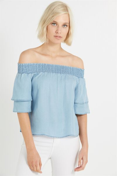 Marnie Off The Shoulder, LYOCELL